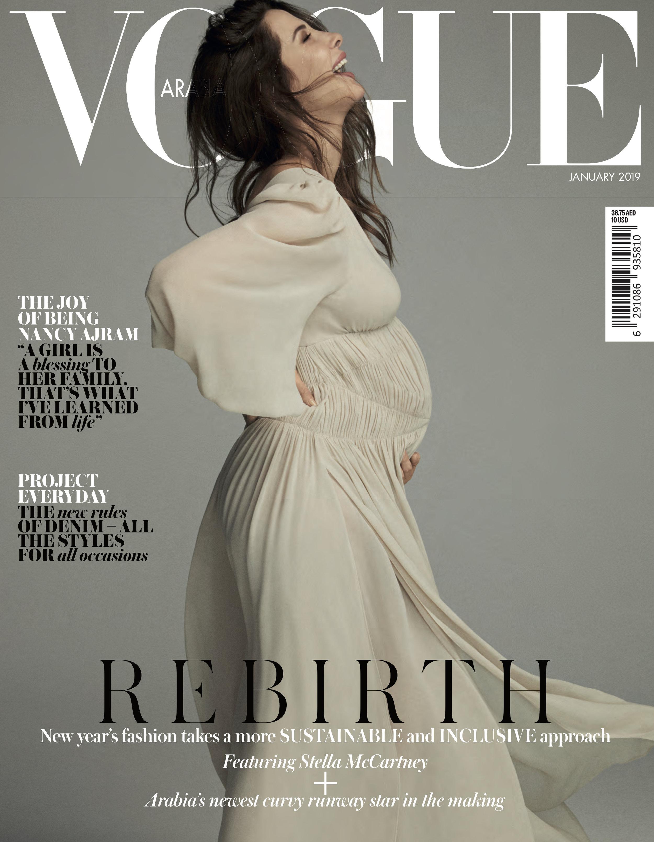 Nancy Ajram X Vogue Arabia