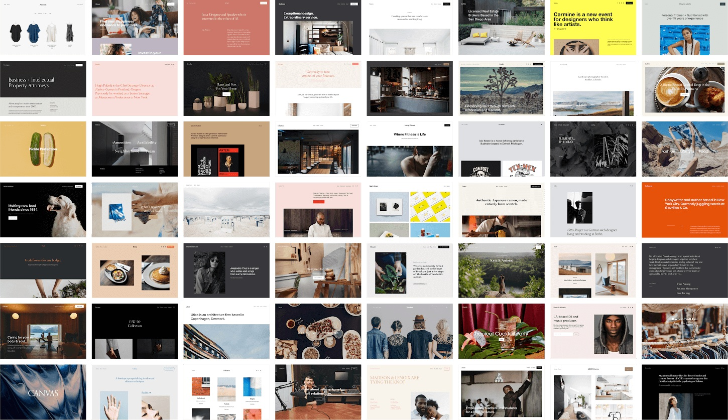 Squarespace — 7.1 Templates