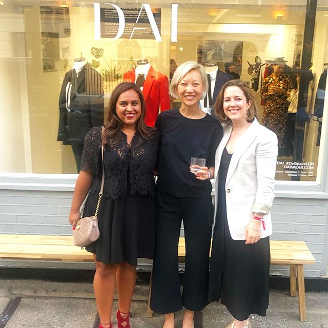 Joanna Dai - We were so delighted to be invited to DAI's Performance Space pop up in July to share the journey of the Insight Collective and celebrate the growing success of Joanna's elegant and iconic brand.