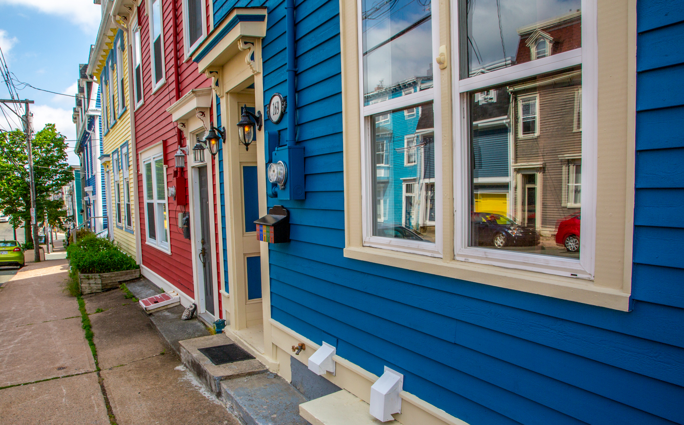 Jelly Bean Row workshop - Take a two hour tour of the Jelly Bean Houses at downtown St. John's.