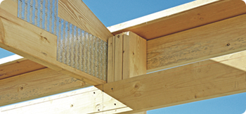 With Goodon you get a post under every rafter - one of the strongest roof to wall joints in the industry.