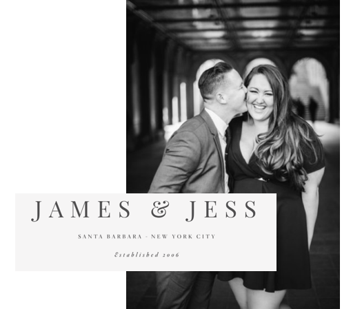 Photo Cred: www.jamesandjess.com @jessfairchild & @jameswitty