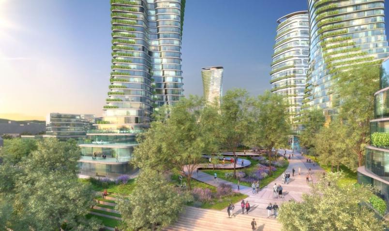 Rendering: Conceptial design for Oakridge Centre
