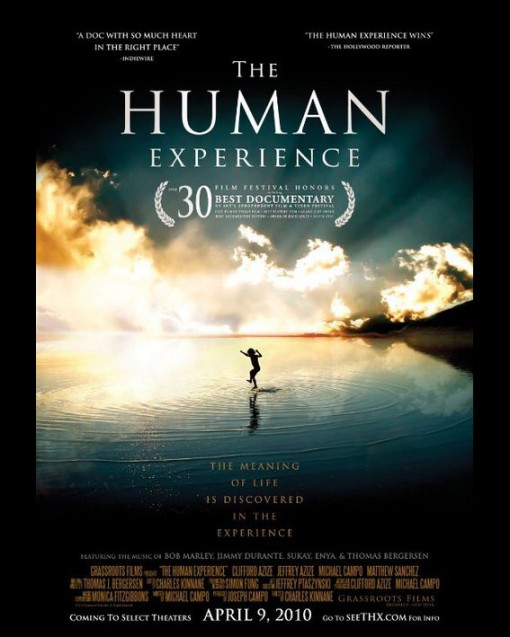 """The soundtrack to the multi-award winning documentary """"The Human Experience"""" has been released on iTunes. A wonderful film and beautiful soundtrack that will hopefully inspire many people out there. A proud moment for Jo of being given the opportunity to contribute a piece of music which is called """"Below The Surface"""".  The soundtrack is available  iTunes    The Human Experience Official Website"""
