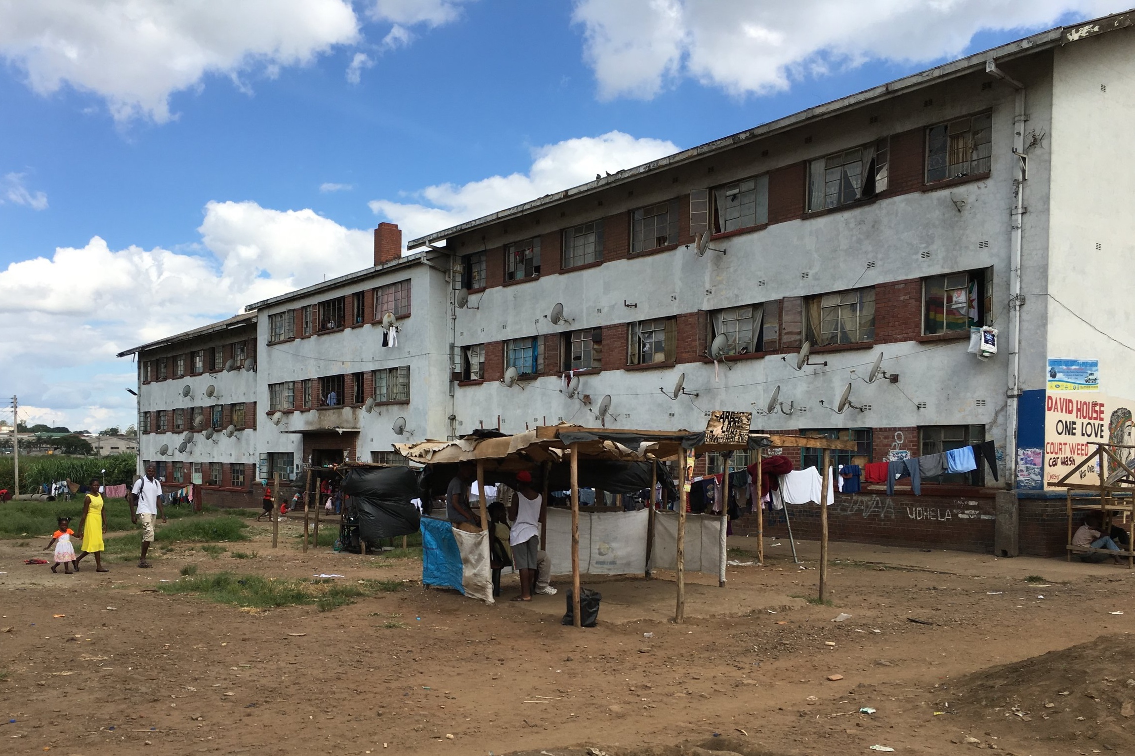 Apartment flats in Mbare, Harare