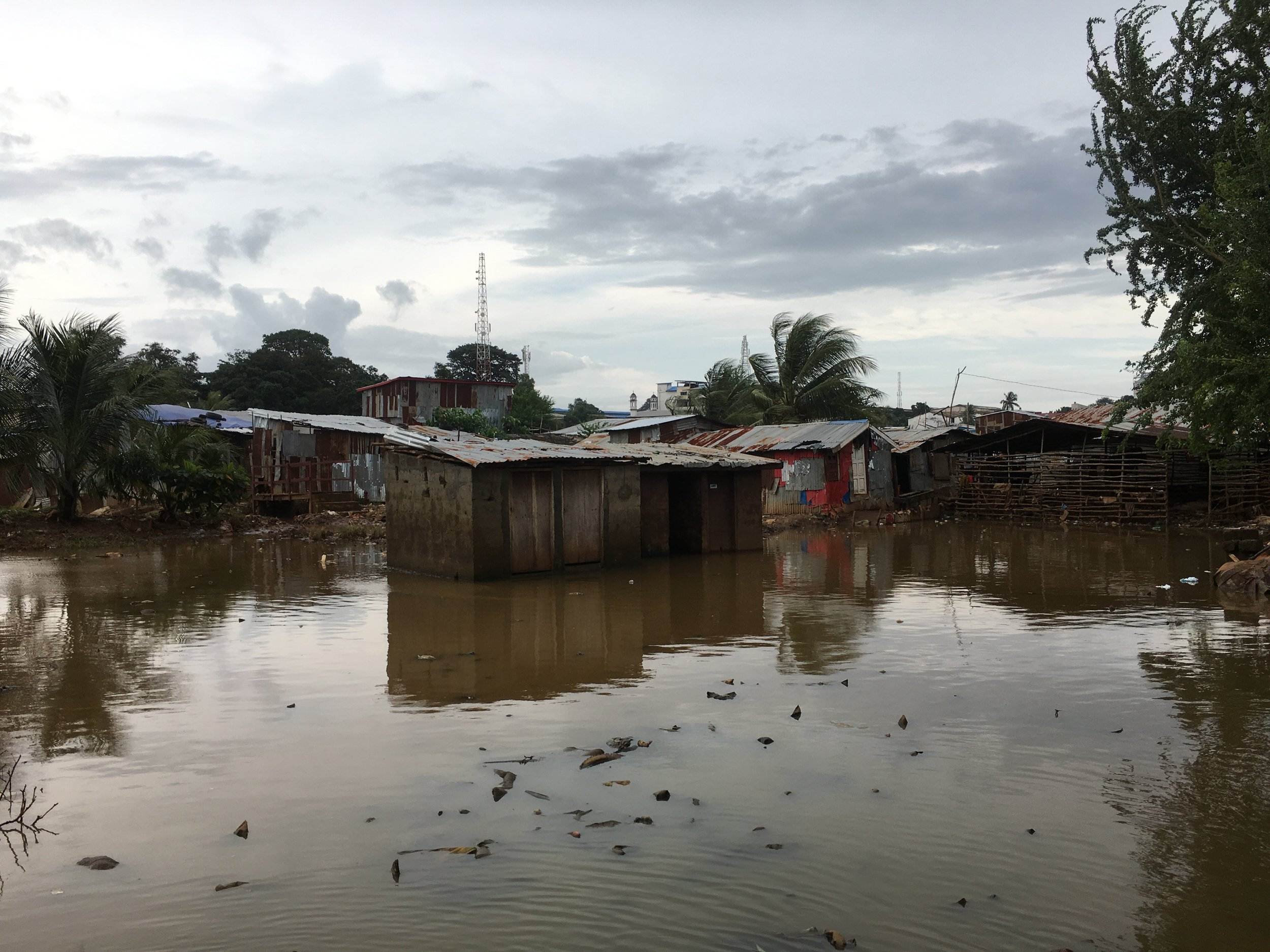At its peak, the water level rose to 1.5 meters in Culvert community.