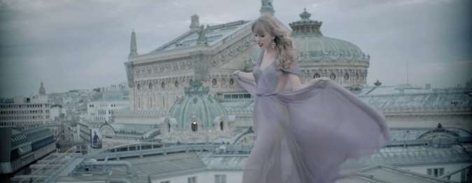 "Taylor Swift ""Begin Again"""