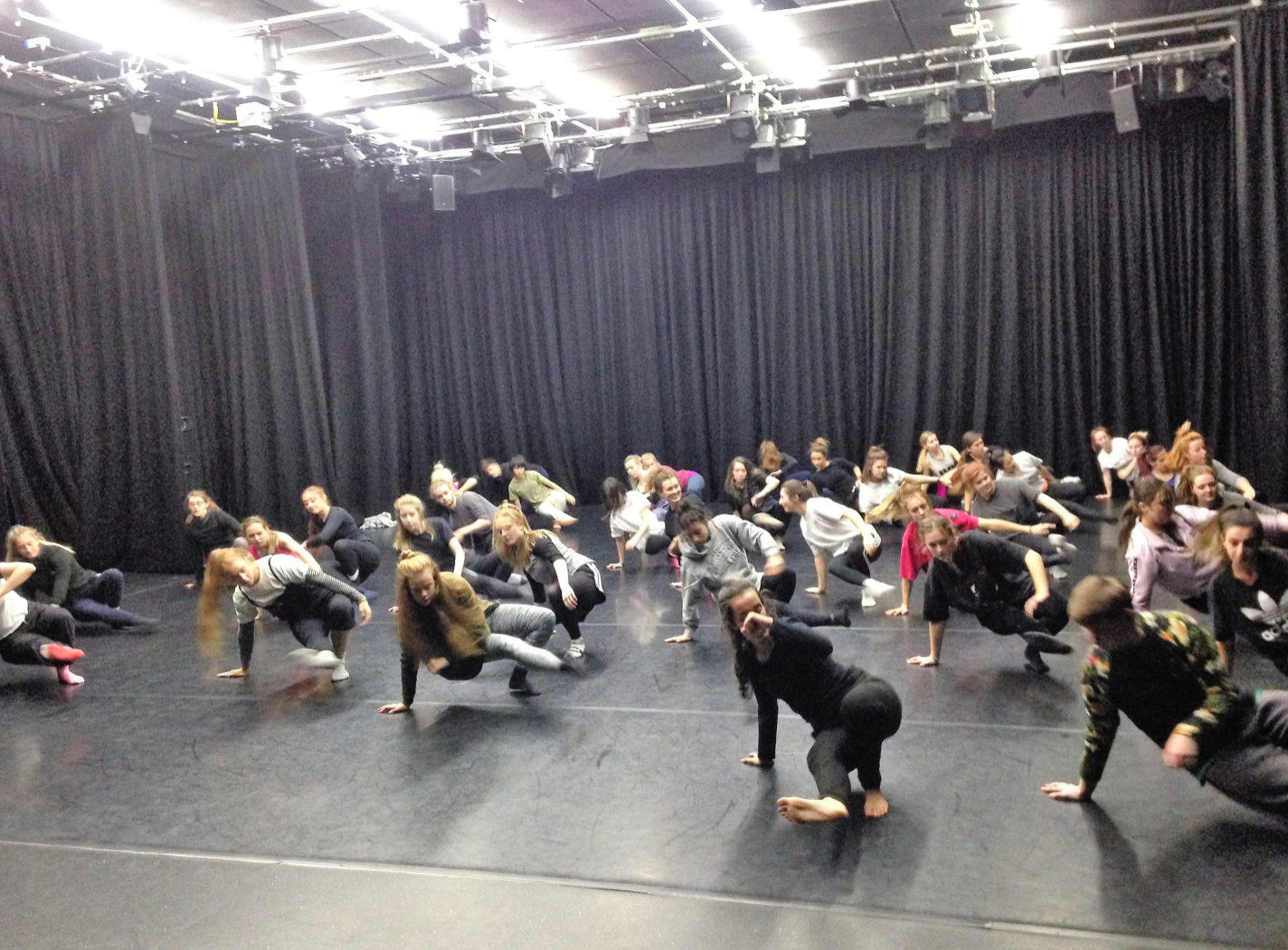 Open Company Class with Third Row Dance