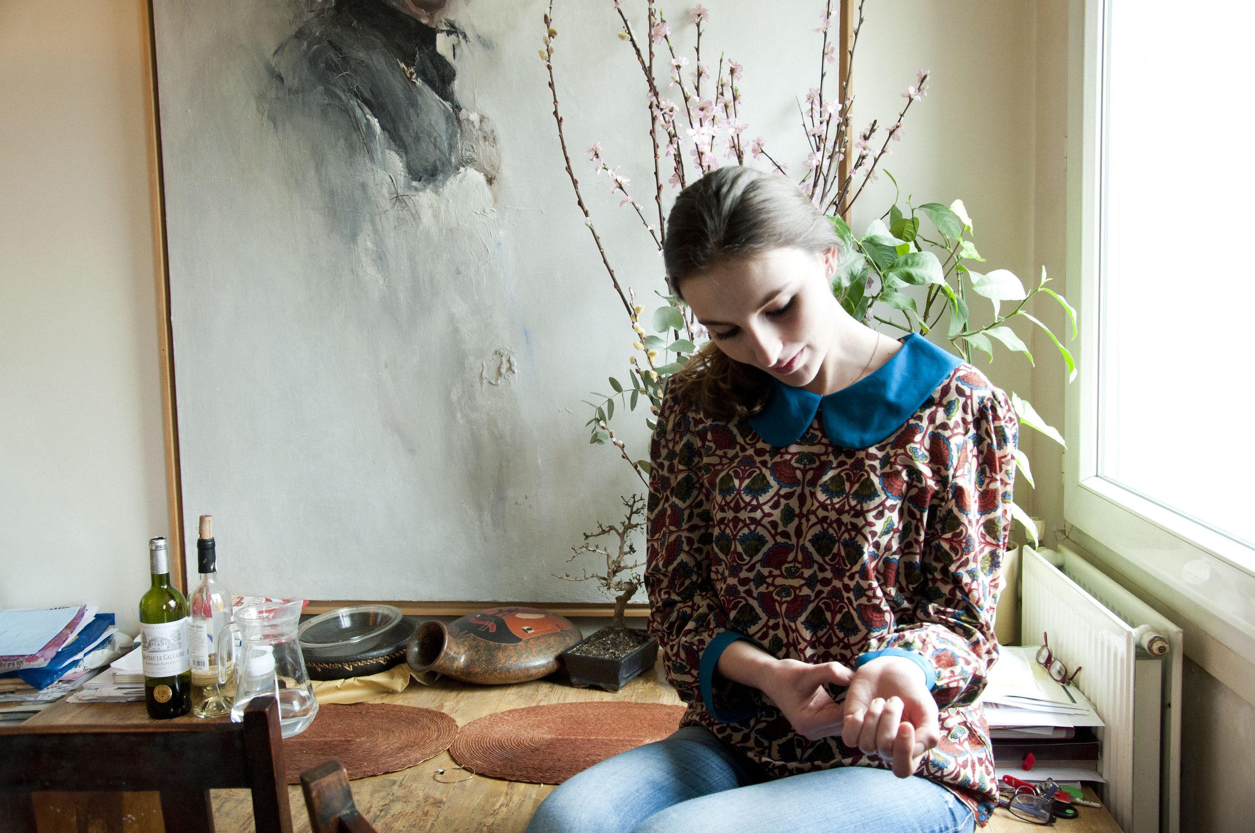 MATILDA BROWN TOP -