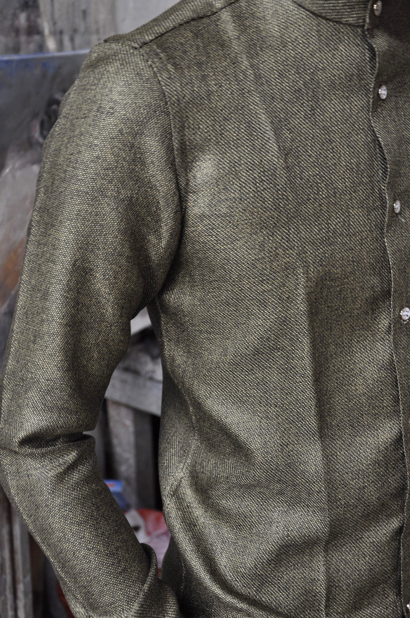 ALSAR COPPER SHIRT 100% INDIAN COTTON    -