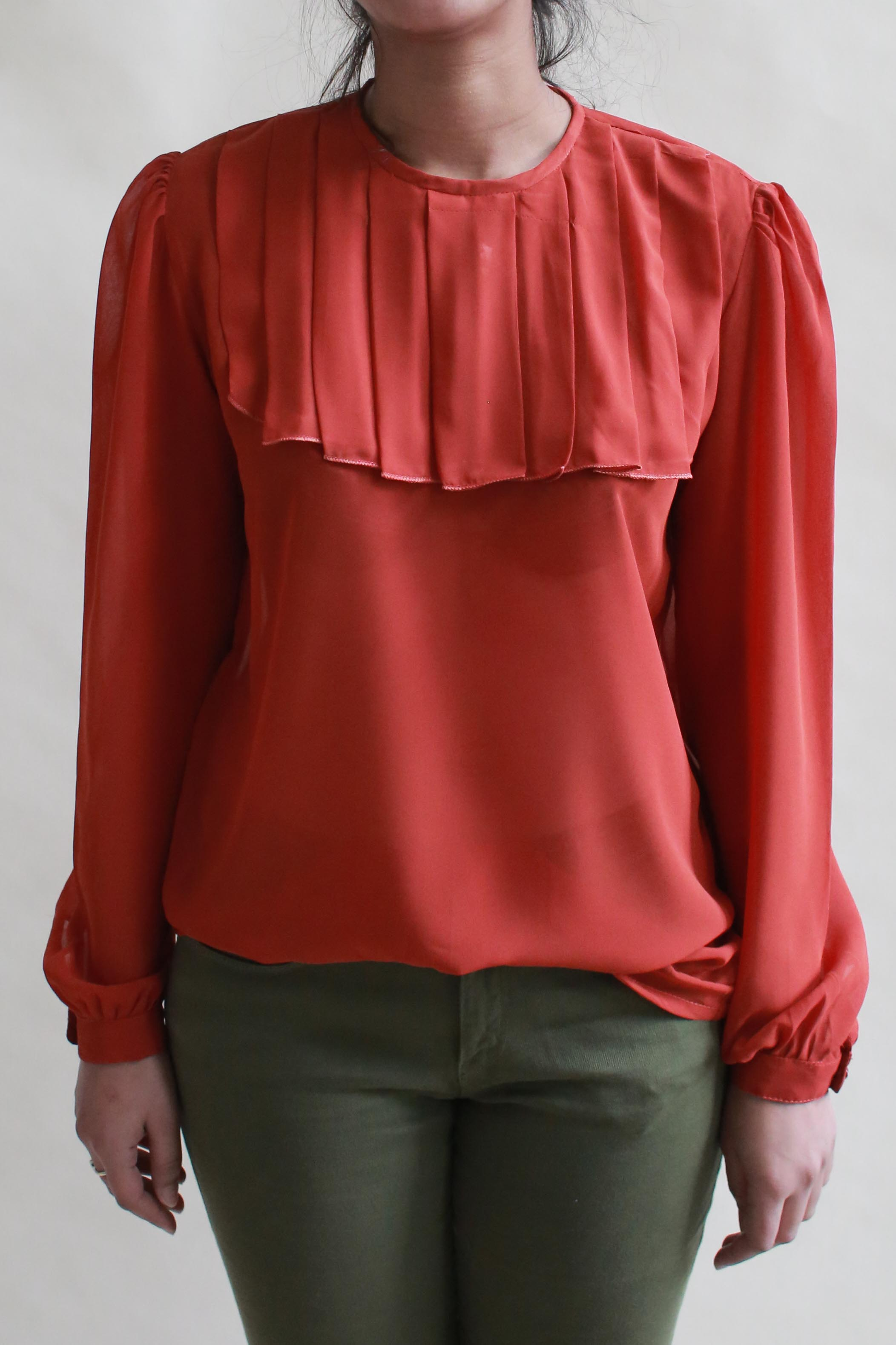 KAMI TOP IS ALSO AVAILABLE IN ORANGE -