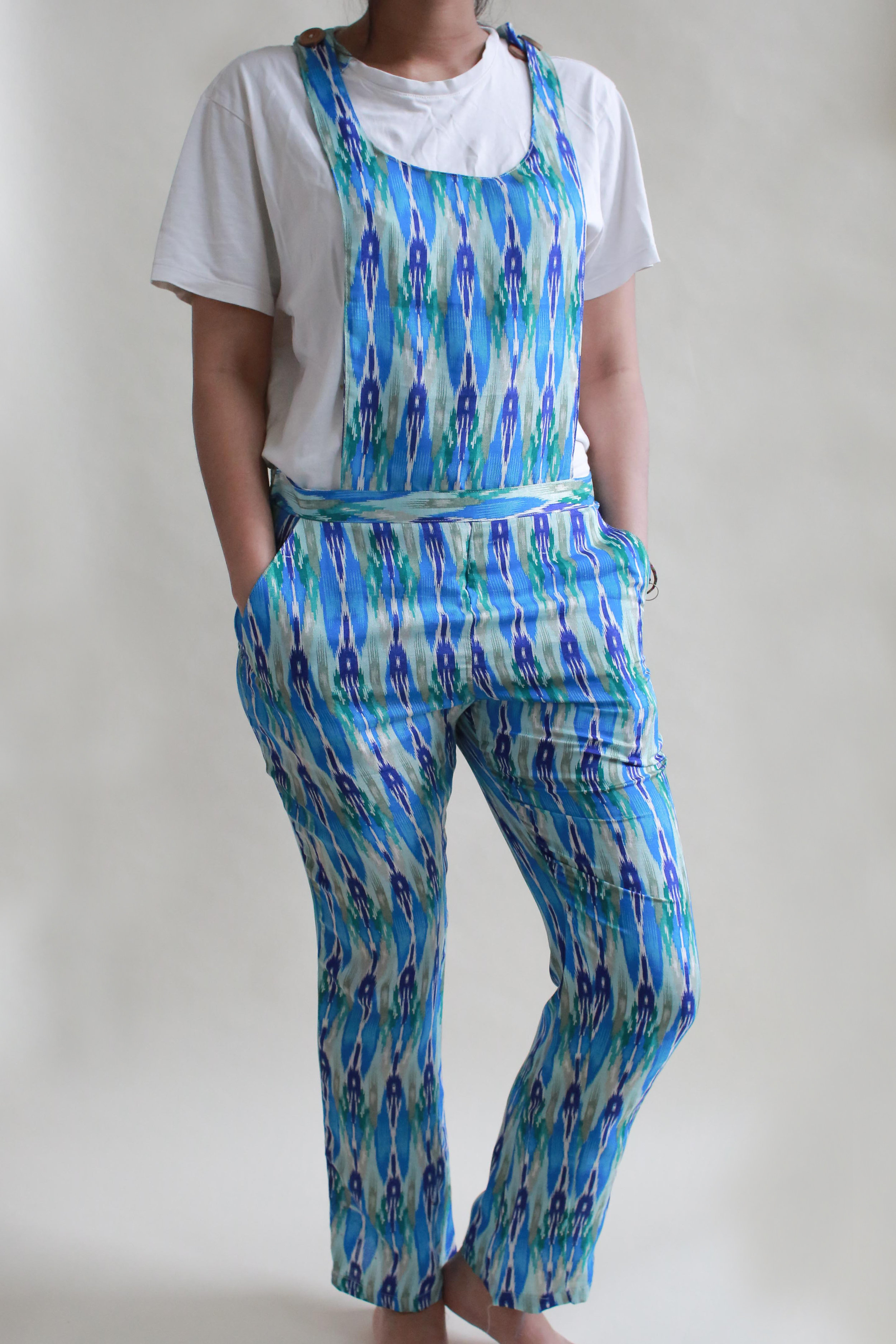 BECKY OVERALL ALSO AVAILABLE IN BLUE -