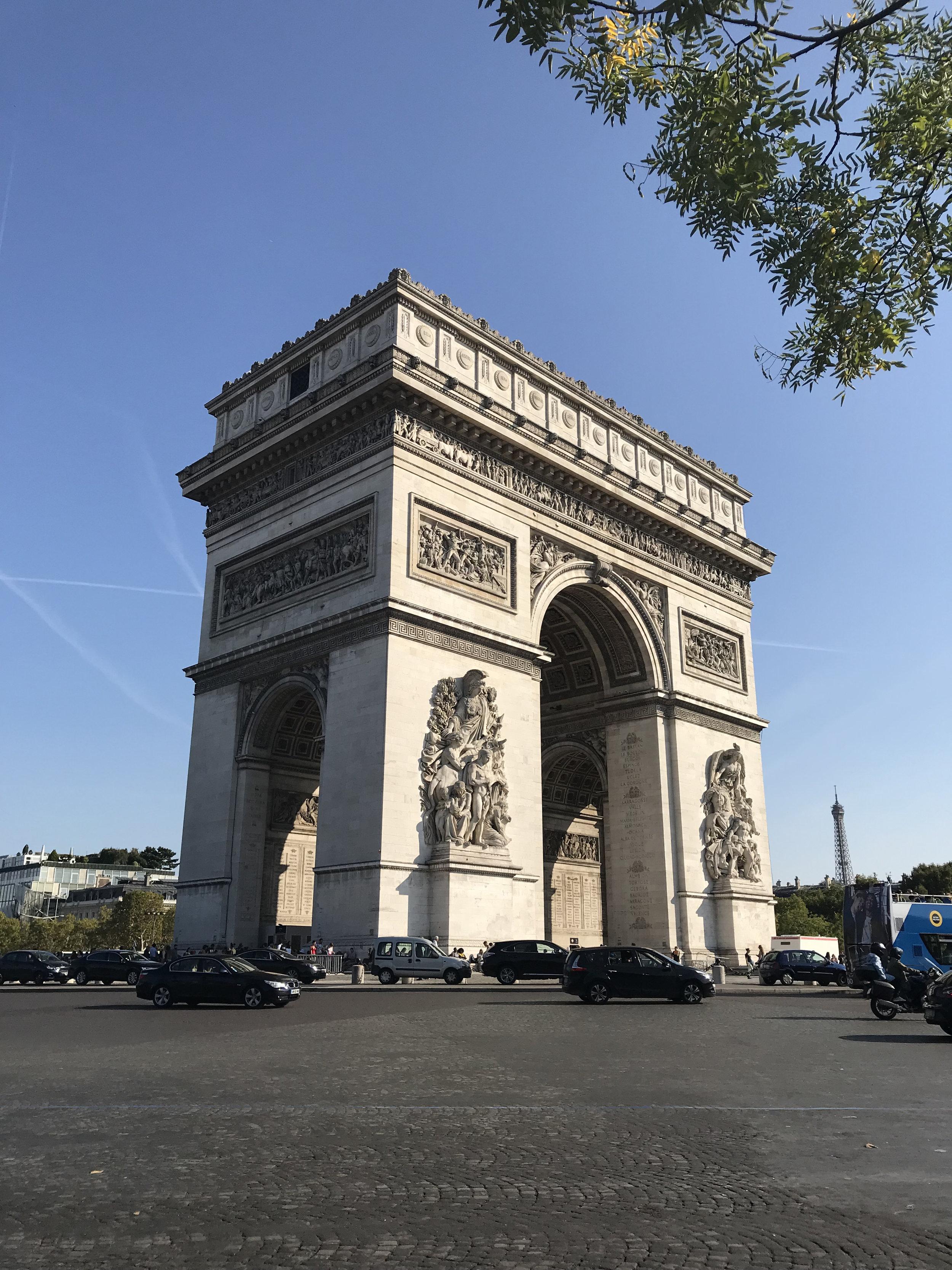 L'Arc du Triomphe