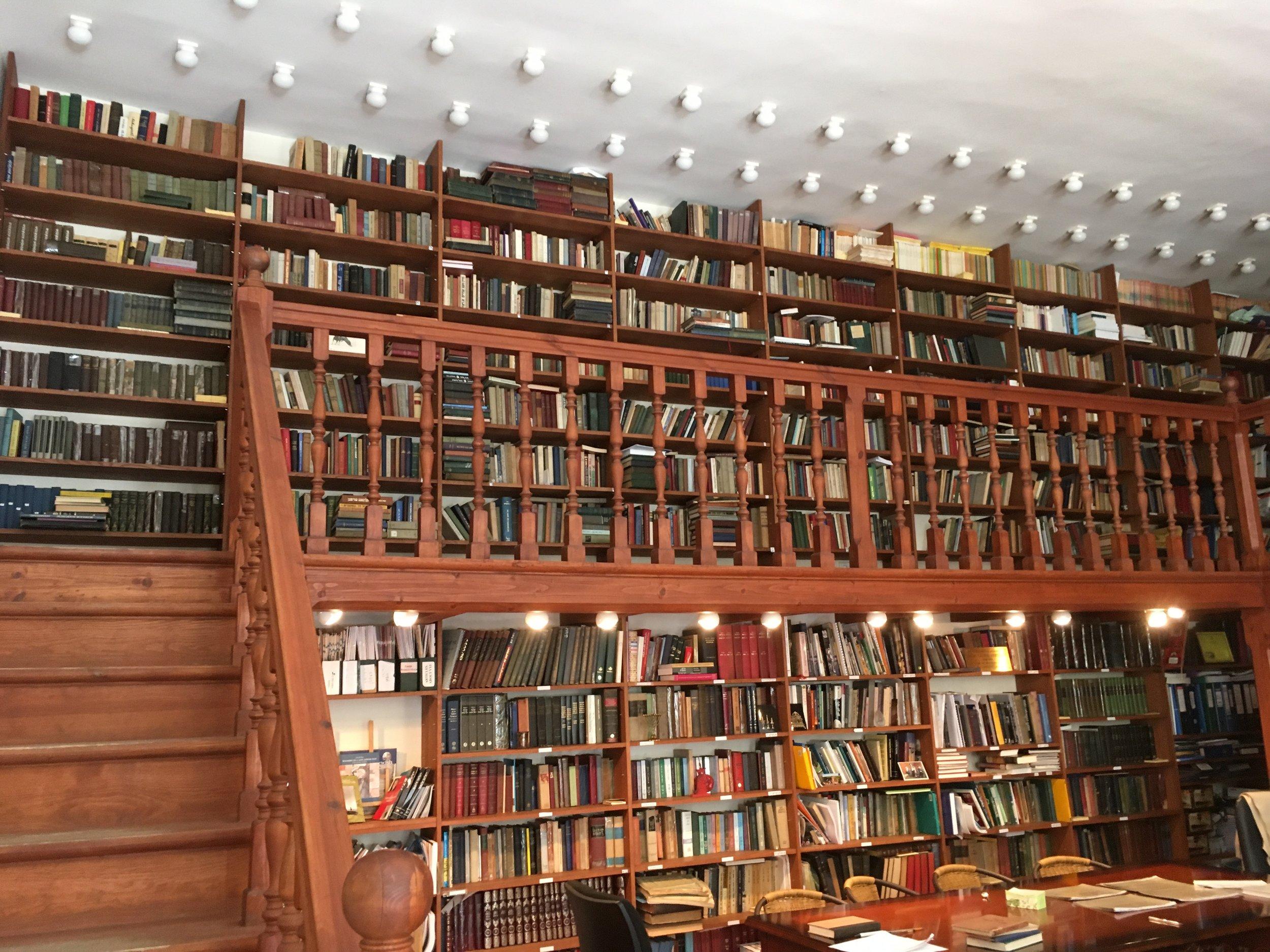 Vilnius Yiddish Institute Library, 2017