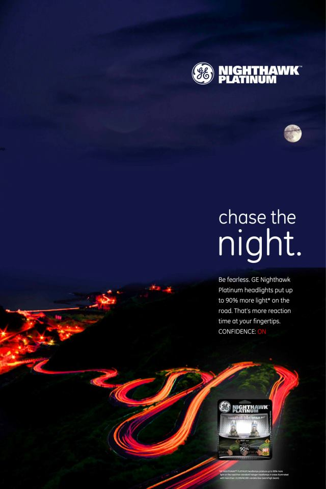 GE® Nighthawk® Print Ad