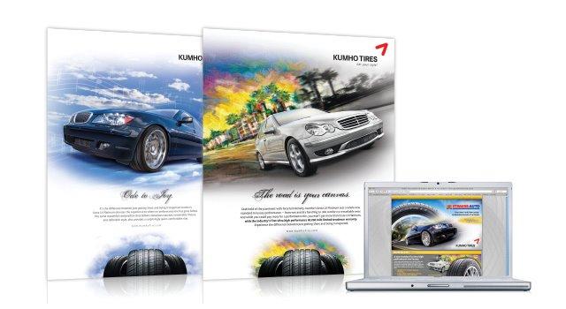 Kumho® Performance Tire Ad Series