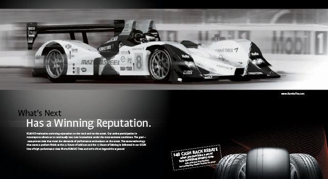 Kumho® Race/Win Ad