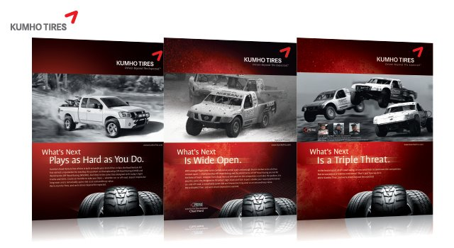 Kuhmo® Tire Ads