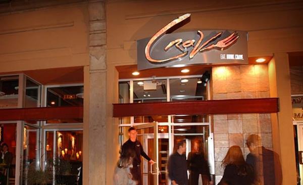 Crave Restaurant Signage