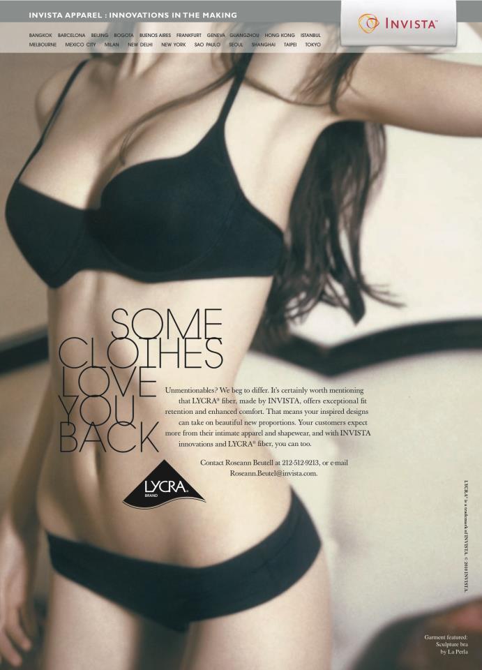 LYCRA™ Trade Ad