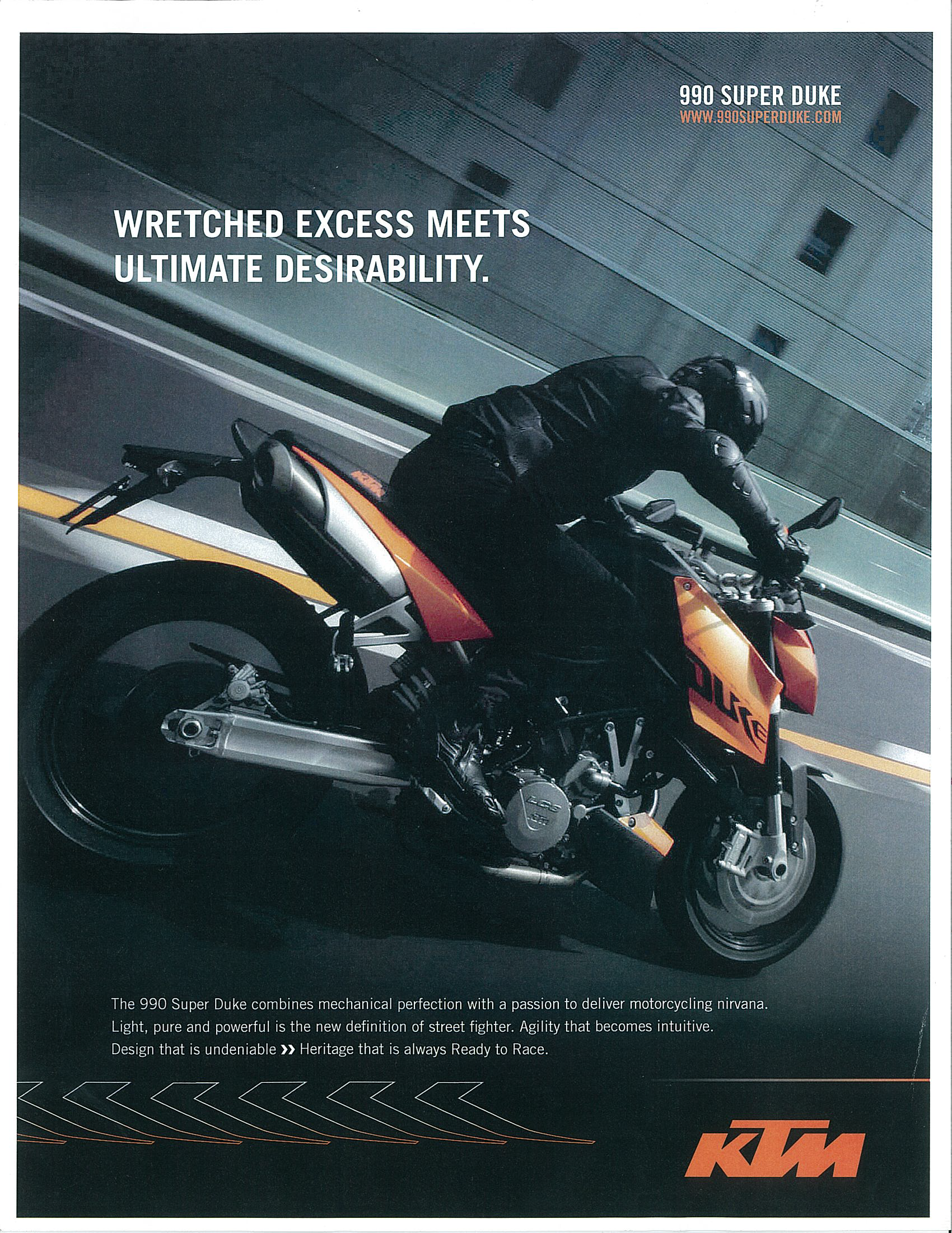KTM® Print Ad