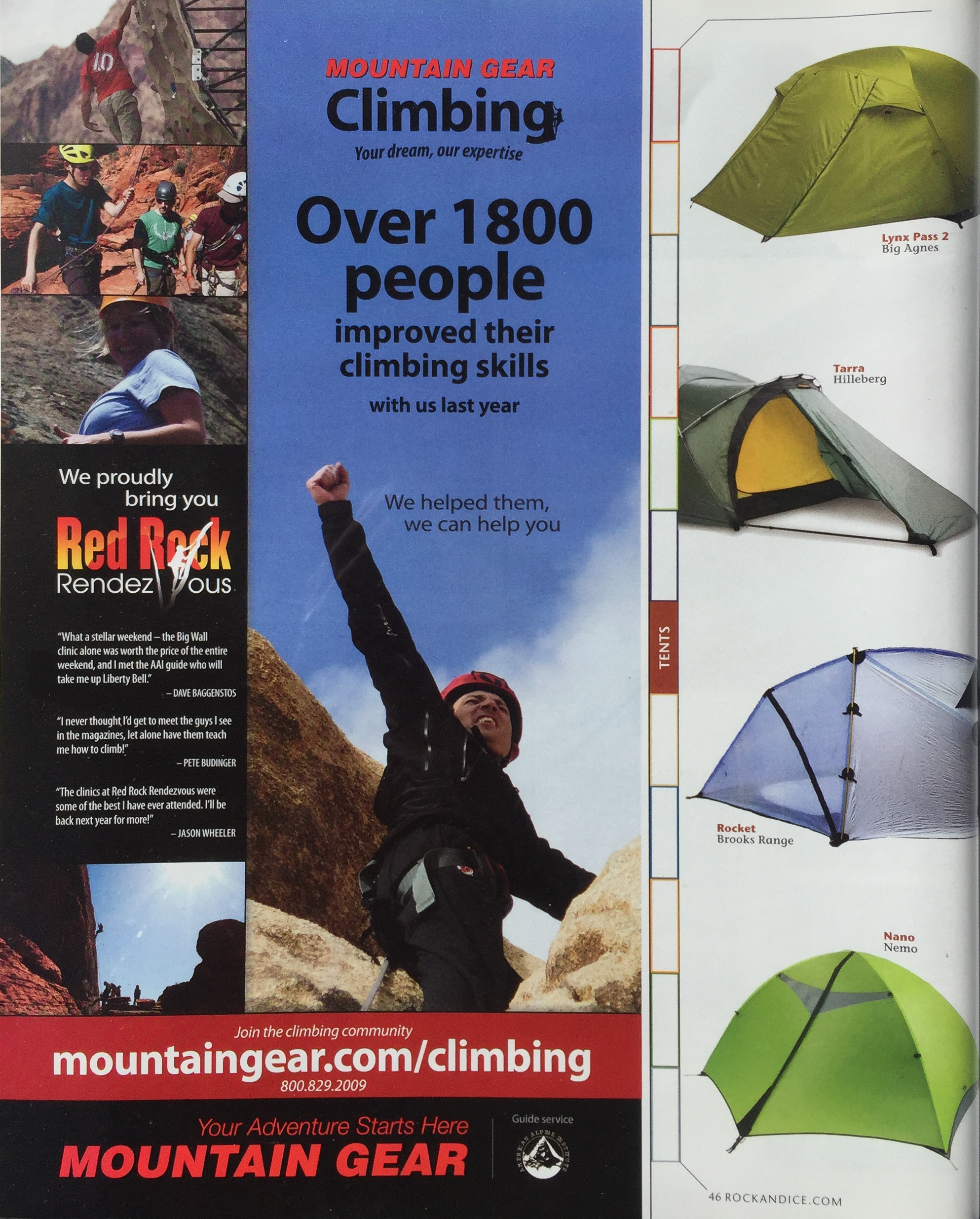 MOUNTAIN GEAR EVENT ADVERTISEMENT   RED ROCK RENDEZVOUS | LAS VEGAS   IMAGES | ERIC ODENTHAL