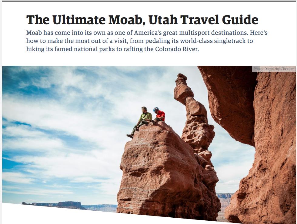 Outside Magazine 2019 - The Ultimate Moab, Utah Travel Guide