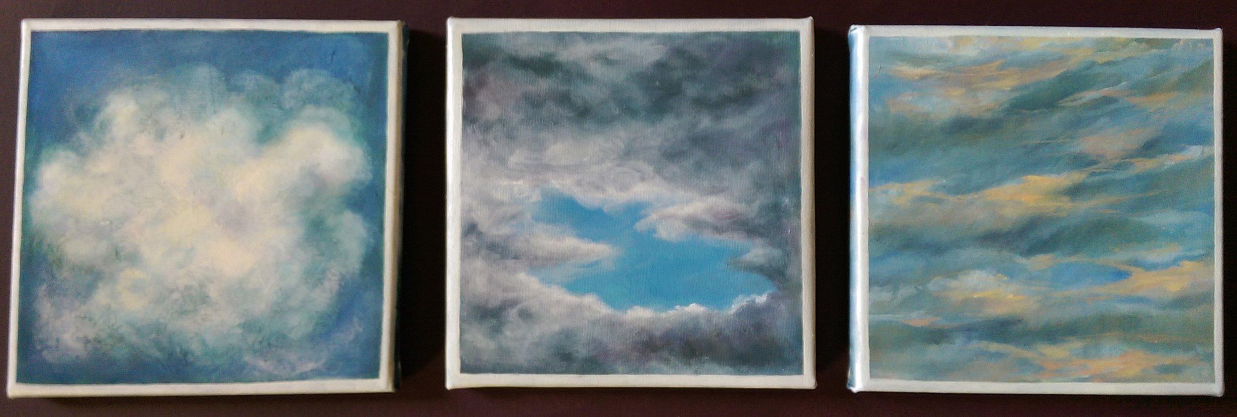 Cloud Series 10- 12, 2018
