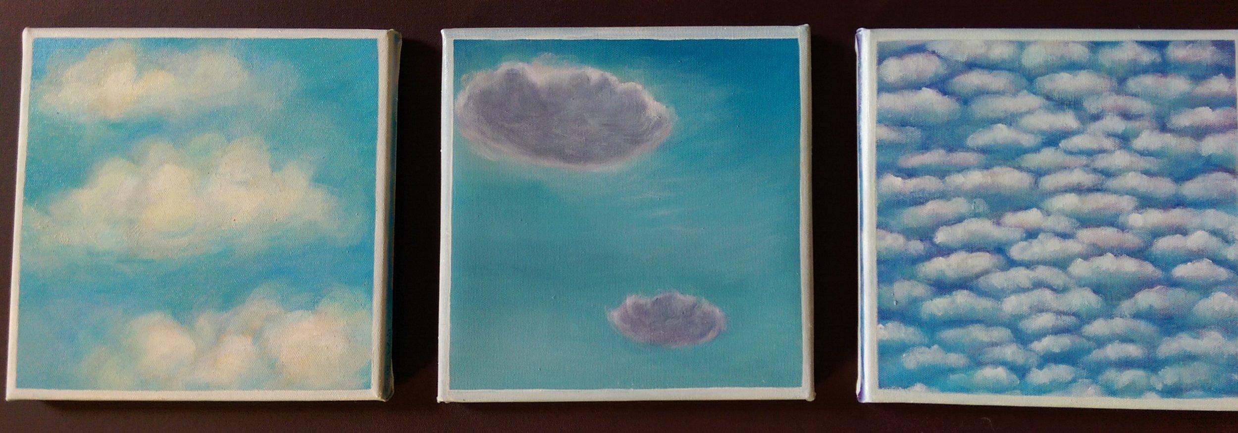 Cloud Series 7-9, 2018