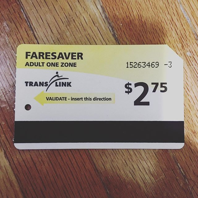 #tbt #backinmyday #faresaver #vancouverisawesome #publictransit #compasscard