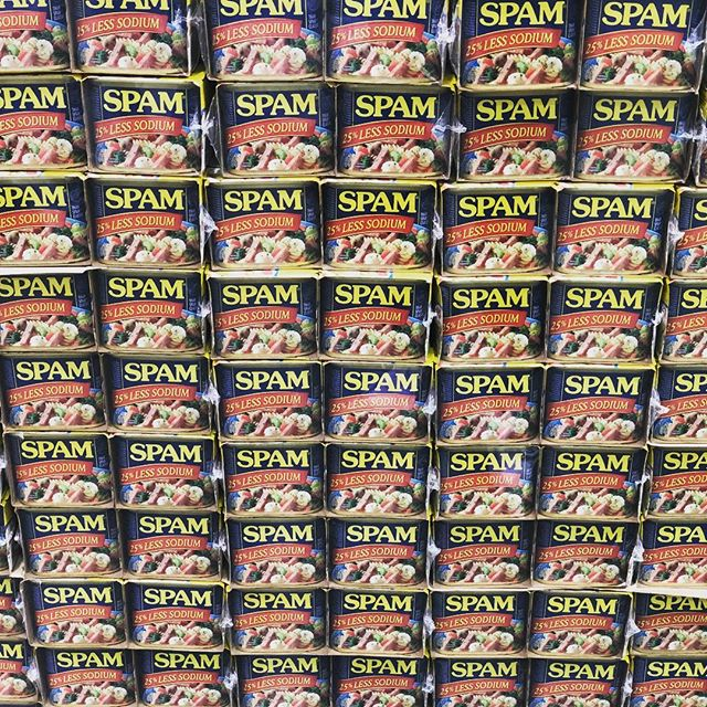 Got spam? #spammusubi #makanabbq