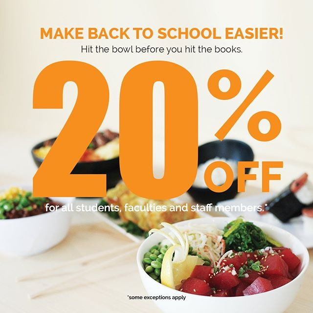 Limited time offer! We want to celebrate your new school year! Come to Makana with your valid school ID. We will hook you up with the discount. #backtoschool #washingtonheights #hamiltonheights #upperwestside #eastharlem #columbiauniversity #thecitycollegeofnewyork