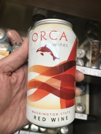 *Update July, 2018. What do you know? Wine comes in cans now!
