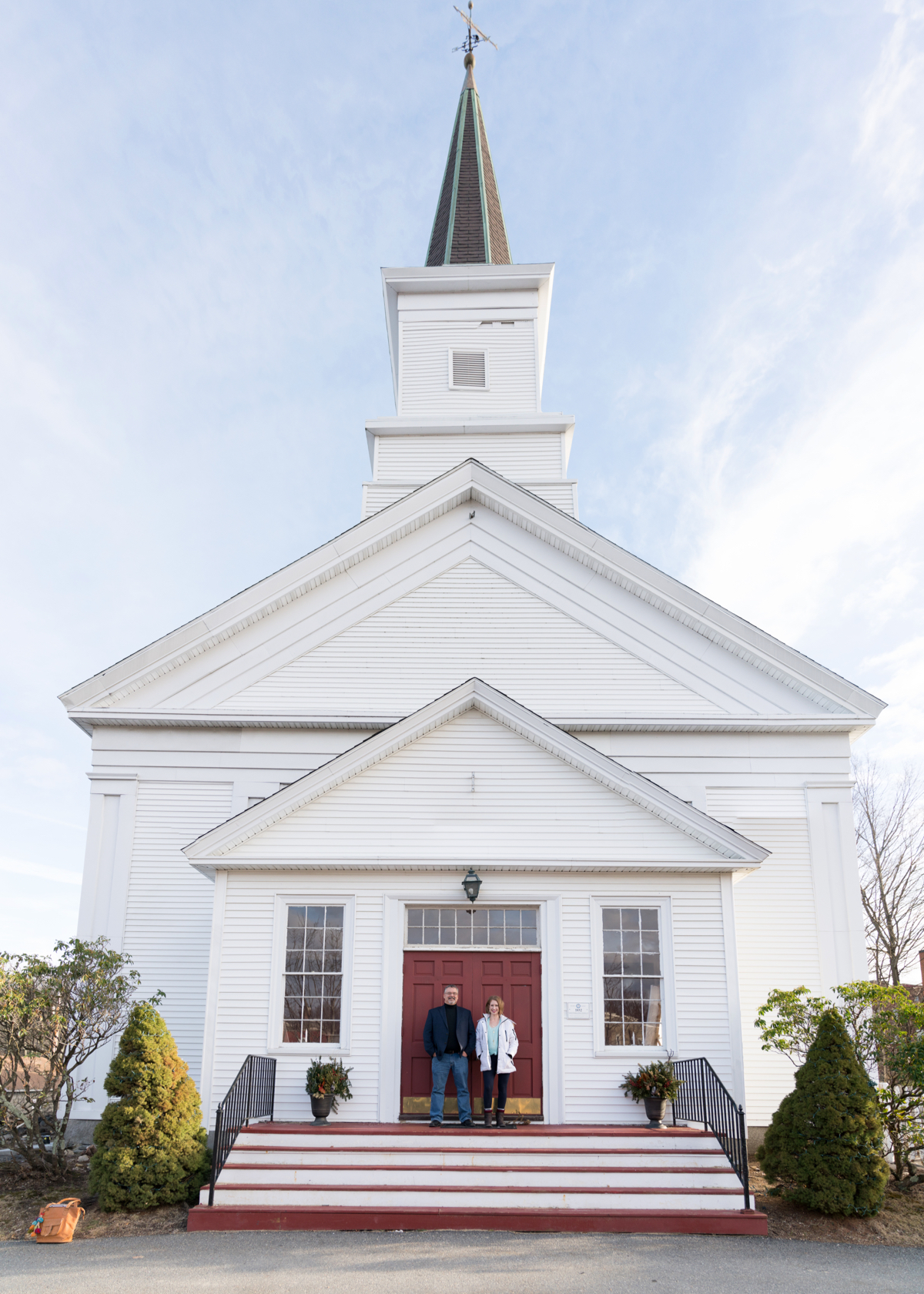 We are located in Sanctuary Hall: a former church in downtown Maynard -