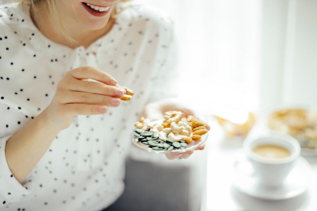 杏仁纖維含量:每一安士杏仁含3.5克,或每100克含12.5克纖維。(圖片來自網絡)