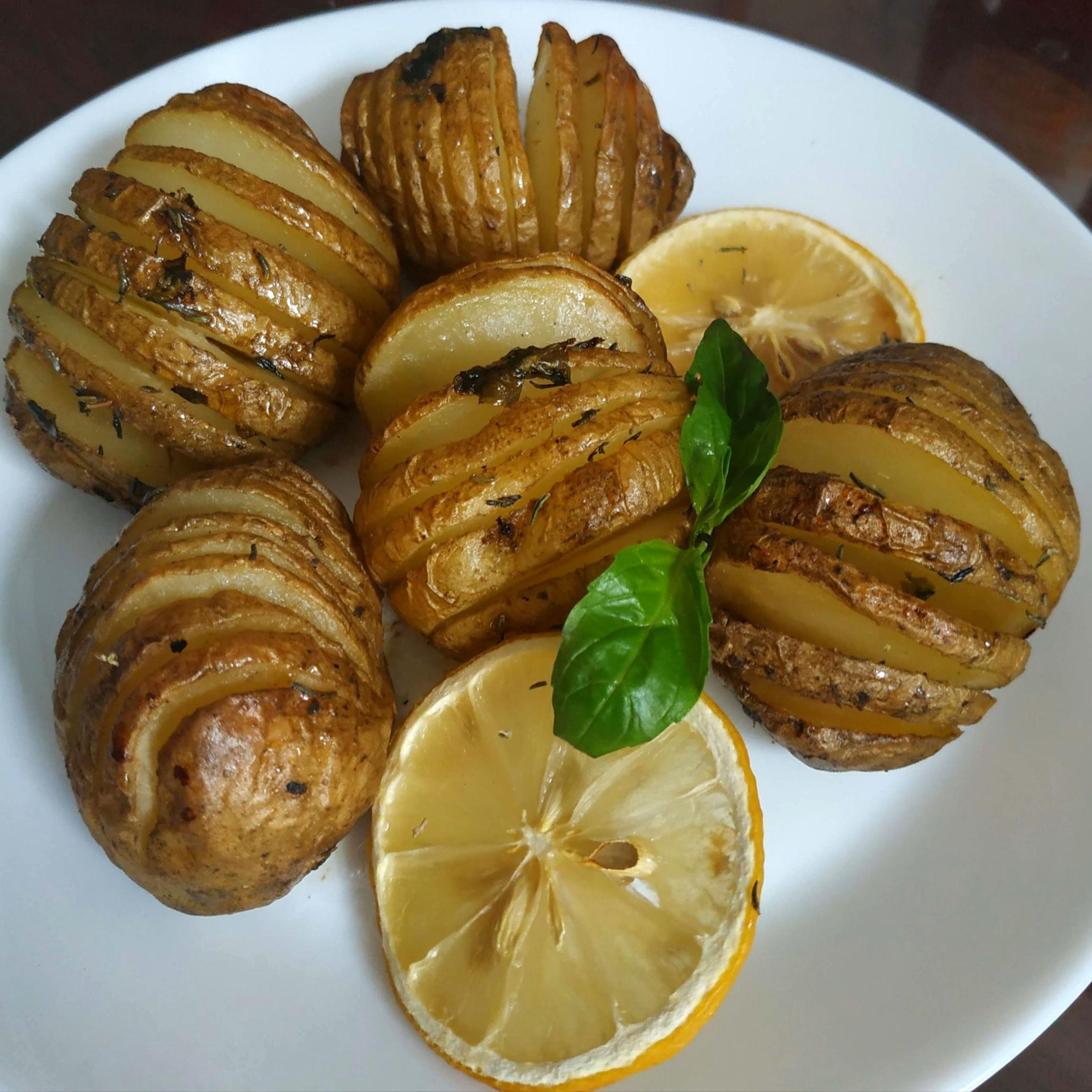 香草油風琴馬鈴薯