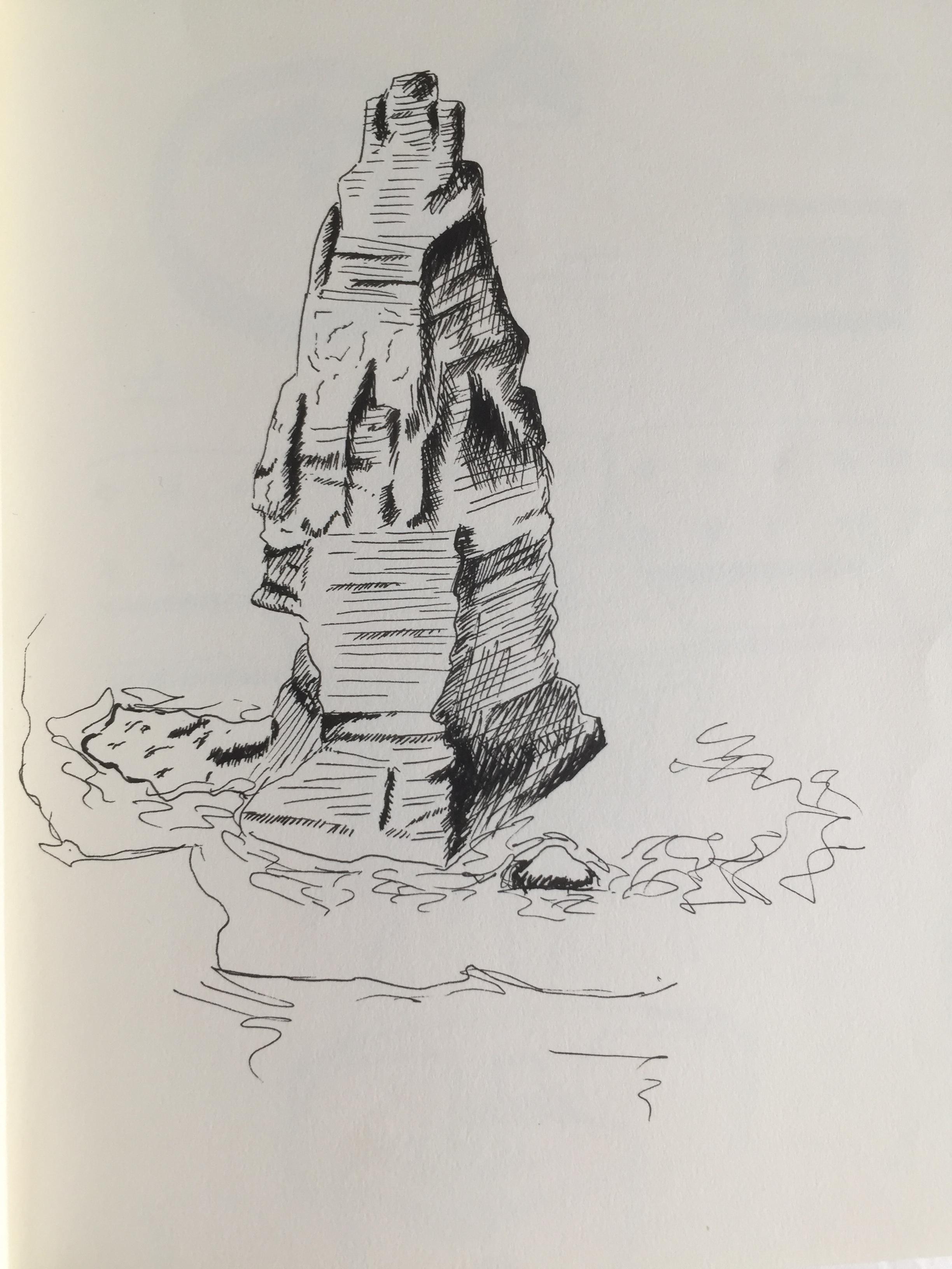 Cliffs of Moher, Ireland, Black Pens