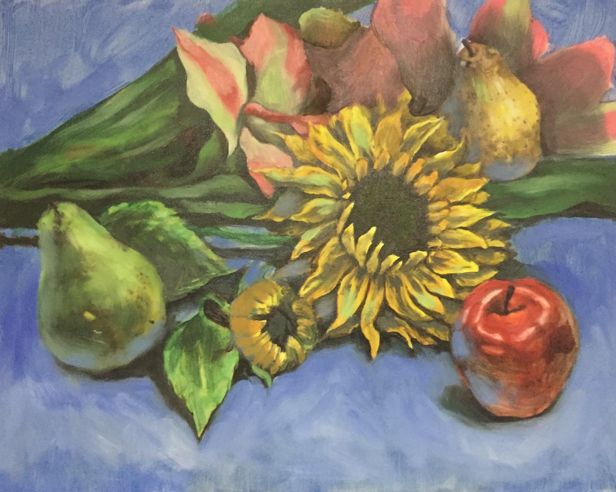 Still Life, Oil Paint
