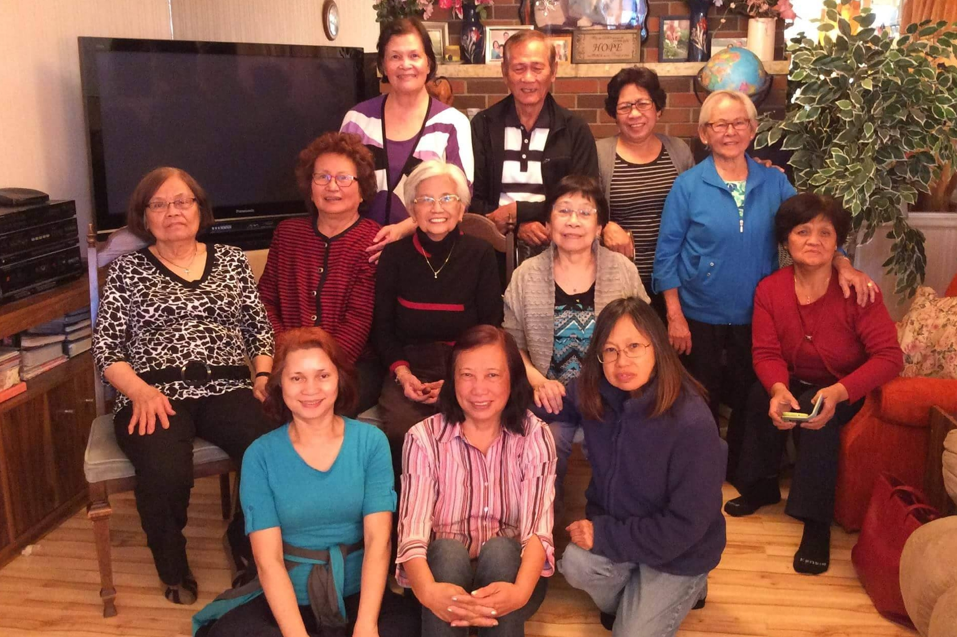 Seniors' Care Group   Every other Saturday Contact: Lolit Gallo / Lota Aquino 780-489-0626 / 780-490-5258