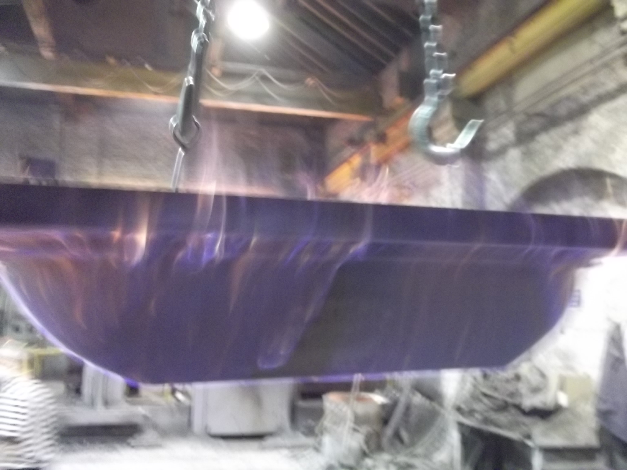 Heating mould for casting