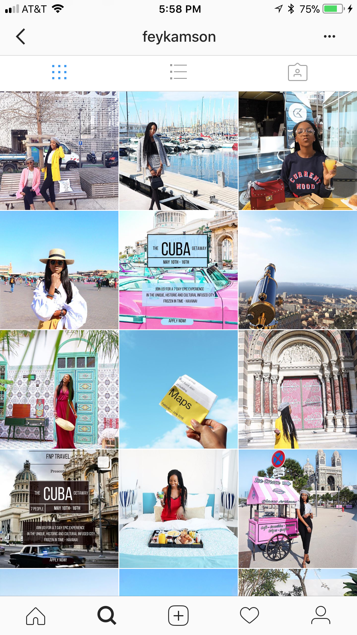 Fey Kamson - Fey is a travel blogger who makes me so happy. You guys know how much I love traveling and exploring the world and seeing a travel blogger always excites and intrigues me. I've always dreamt of being a travel blogger and I am working on that but for now I can live my dreams through Fey's blog and instagram feed. She even has a company called FNP Travel. The service her company provides is vacation planning. When she's not busy with her company, she spends time on her blog giving us travel tips, sharing her experience and so much more. She is a delight. Visit her website at http://www.fnptravel.comFollow her instagram at @feykamson