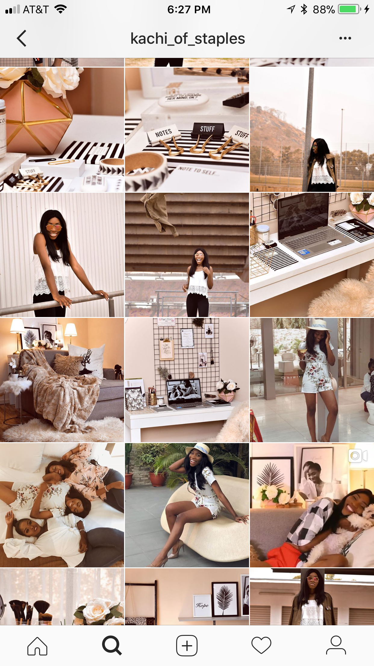 Onyekachi Opara - Kachi of staples is a fashion and lifestyle blogger. My favorite things that I enjoy reading on her blog are her decorating/DIY posts. I love reading the posts about decorating your home and office space. Her blog is very inspiring and helpful.Visit her blog at http://www.staplesandstyle.comFollow her on instagram @kachi_of_staples