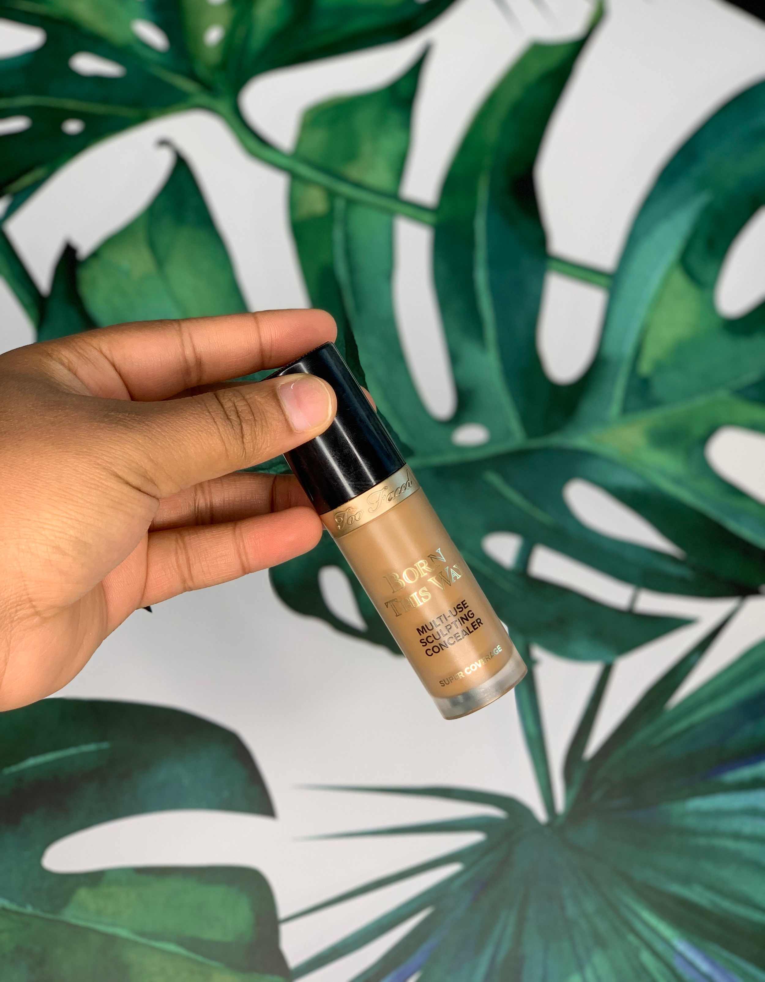 "Concealer - When the Too Faced Concealer launched, I heard many people talk highly of it and since I was ready to try something new, I purchased it in December 2018 and I immediately fell in love with it. The shade that I use ""warm sand"" is perfect and the formula!! You guys!! Too Faced has won my love with their foundation and concealer. It's a DUO!!!"