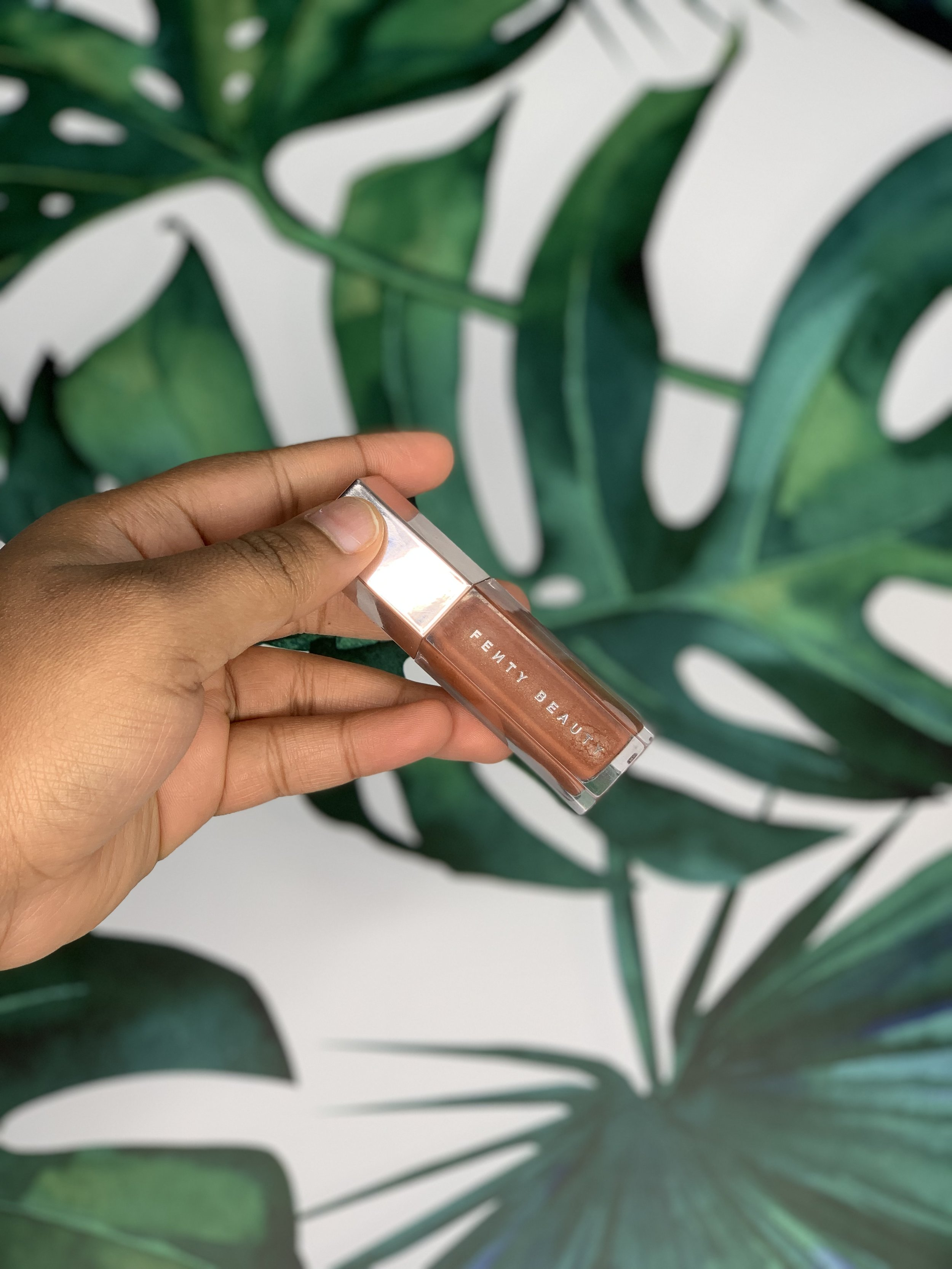 Lips - Lastly, LIPS. This is my favorite Fenty Beauty product ever. Since it launched, I haven't used any other lipgloss. I love the Fenty Gloss Bomb very much. It's a perfect shade and I basically use it everyday; even when I'm not wearing makeup.