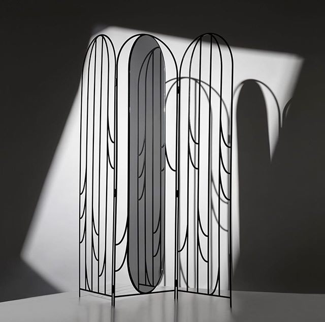 Made to suit both a functional and a decorative purpose, the Don't Hide Décor Screen by Lisette Rützou adds an artistic element to the space in which it is placed. Inspired by art nouveau, the laser cut iron front encourages to emphasize beauty rather than hiding it. For enquiries or lend out please contact sophie@whosagency.dk
