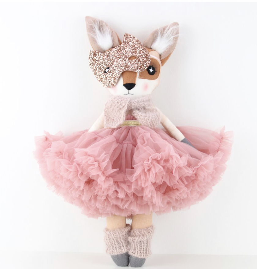 I'm not sure there's any brand quite as magical and dreamy as Thicket and Thimble. These animal dolls are the absolute dream and make the most beautiful heirloom gift.    https://thicketandthimble.com