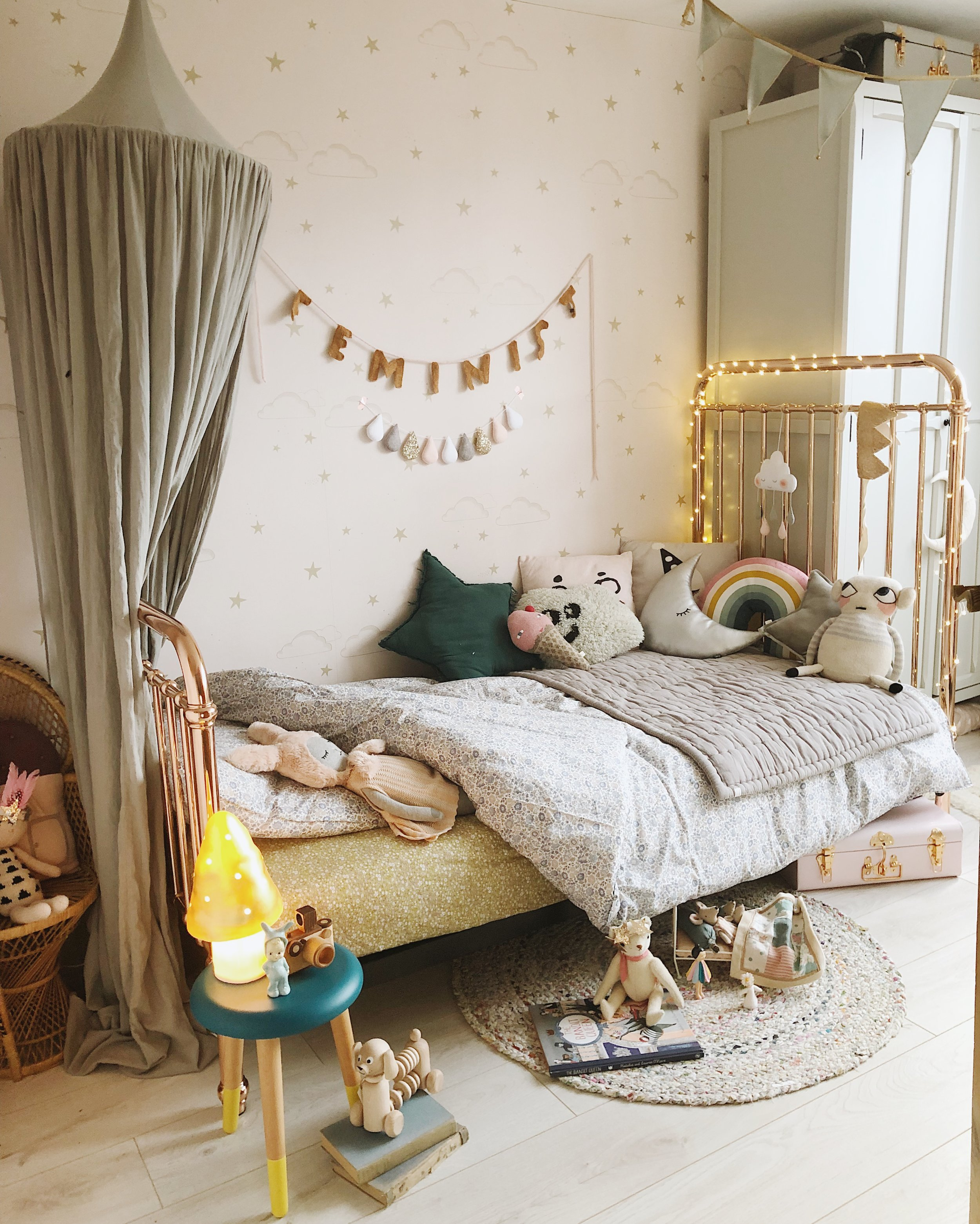 Dreamy new Incy Interiors bed fron Cottage Toys in the U.K.