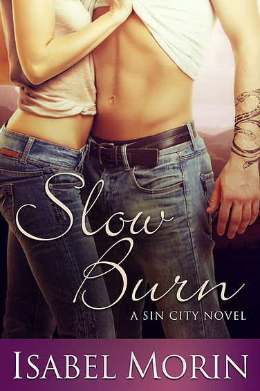 Slow Burn - Sin City, Book 3Amazon | B&N | iBooks | KoboBeth Levine left her Ohio hometown and cheating fiancé behind, determined to shake things up. She succeeds beyond her wildest dreams when she finds a job touring the country with a band she's never heard of. Because even uptight, rule-abiding accountants need to live a little.Everything about Jesse Rhodes is larger than life, including his rattlesnake tattoos. He's sexy as sin, but Beth's got a front row seat to all the girls who throw themselves at him, and she's not interested in vying for his attention. Besides, all the sexual chemistry in the world won't make her and the lead singer right for each other.Jesse takes one look at Beth's pin-up girl curves and wary eyes and knows he's in trouble. But Beth isn't looking for a fling, and with his career taking off, a few sexy weeks are all he has to offer. As soon as the tour is over they'll go their separate ways. At least, that's the plan...but some things are easier said than done.Slow Burn is a 61,000 word contemporary romance novel. It can be read as a standalone or as part of the series.