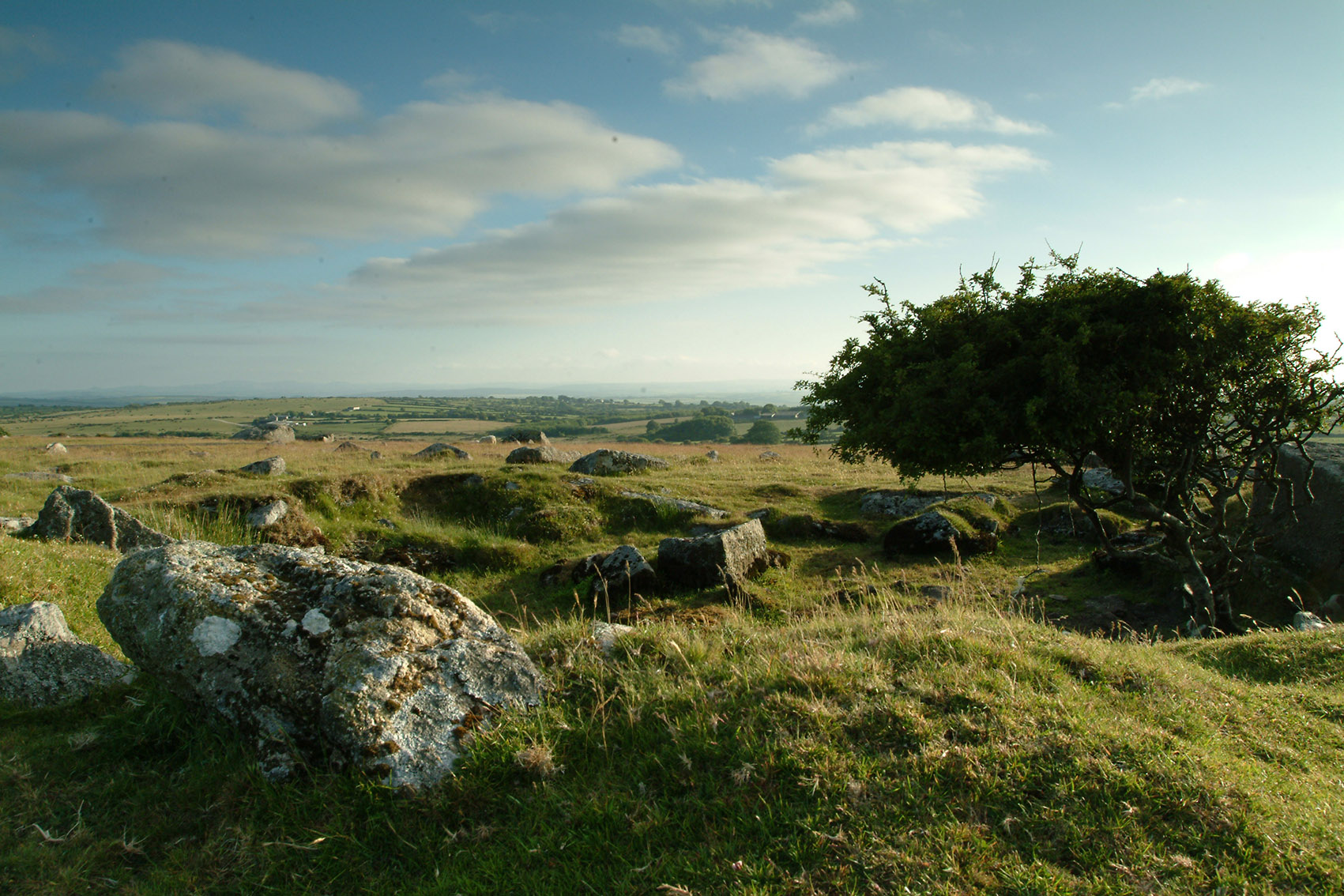 Looking out over Bodmin Moor in Cornwall near Penrose Burden luxury holiday cottages.jpg