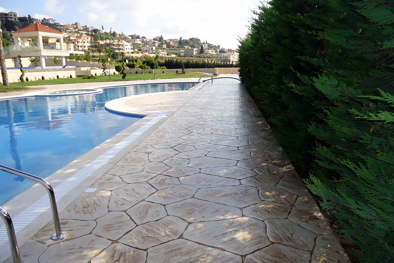 Verona Stamped Concrete